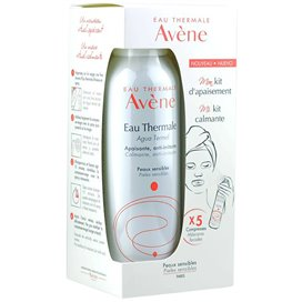 Avene My Soothing Kit Thermal Water 150Ml + 3 Facial Masks
