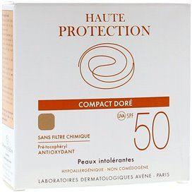 Avene SPF 50 Compacto Alta Proteccion Dore/Dorado 10 G