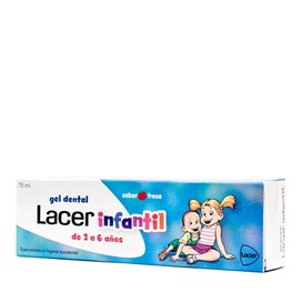 Lacer Infantil Gel Dental 75Ml Fresa
