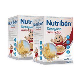 Nutriben Desayuno Copos Y Frutas Duplo (2x750g)