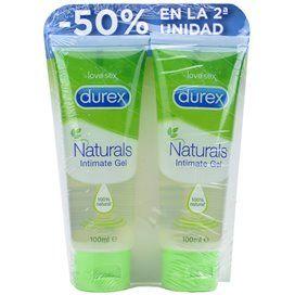 Durex Naturals Intimate Gel 2x100Ml
