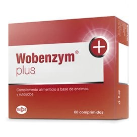 Wobenzym Plus 60 Comprimidos Caja