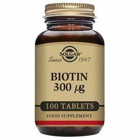 Solgar Biotina 300μg 100 Comp