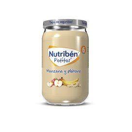 Nutriben Manzana Y Platano Potito 235 G