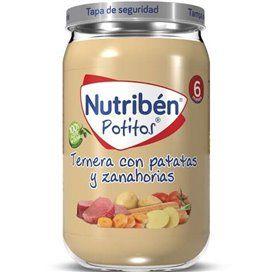 Nutriben Ternera Con Patatas Y Zanahorias Potito 235G
