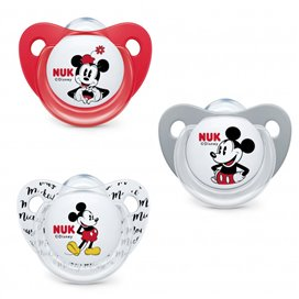 Nuk Chupete Silicona Disney Mickey T-3 N 1U