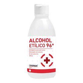 Alcohol 96º Montplet 1 Frasco 250 Ml