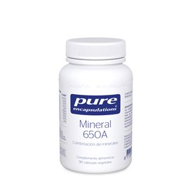 Pure Encapsulations Mineral 650A 60 Capsulas