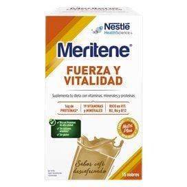 Meritene 30G 15 Sobres Cafe Descafeinado
