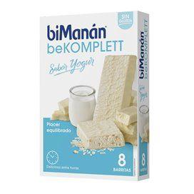 Bimanan beKomplett Snack Barritas Iogurte 8 Barritas