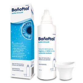 Bañoftal Banho de olhos 190Ml