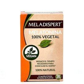 Meladispert Melatonina 100% Vegetal 20 Comprimidos