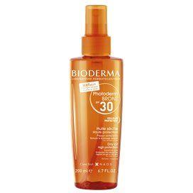 Bioderma Photoderm Bronz Aceite Seco Spf 30 Spray 200 Ml