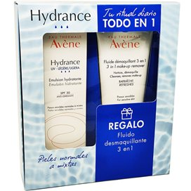 Avene Hydrance Emulsion UV SPF30 Ligera 40Ml + Fluido Desmaquillante 3En1 100Ml