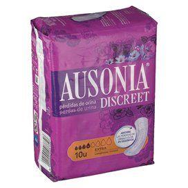 Ausonia Discreet Compresas Incontinencia Extra 10 Unidades