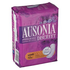 Ausonia Discreet Incontinence Pads Extra 10 Units