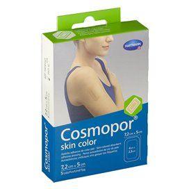Cosmopor Skin Color Aposito Esteril 7,2 Cm X 5 Cm 5 Uds