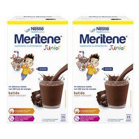 Meritene Junior Chocolate 2x1 Duplo 30 Sobres