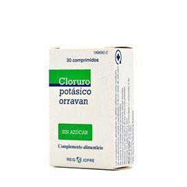 Cloreto de potássio Orravan 30 Comprimidos