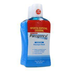 Parogencyl Control Gengivas Colutorio 2x500Ml Duplo