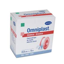 Esparadrapo Hipoalergico Omniplast Blanco 5 M X 2,5 Cm BR