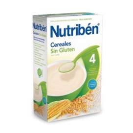 Nutriben Papilla Cereales Sin Gluten 600 G