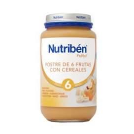 Nutriben Postre de 6 Frutas con Cereales Potito Grandote 250 G