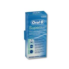 Oral-B Superfloss Seda Dental 50 U BR