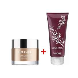 Caudalie Premier Cru Crema Rica 50Ml + Gel Ducha The Des Vignes 200Ml