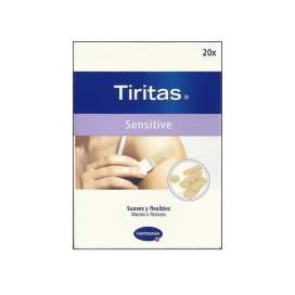 Tiritas Sensitive 4 Tamaños 20 U