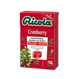 Ricola Caramelos Arandano Rojo