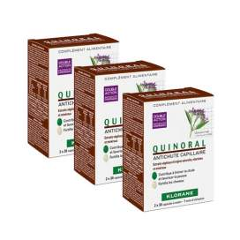Klorane Quinoral 3x30 capsulas (3 meses tratamiento)