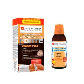 Forte Pharma Pack Turboslim Drenante 500Ml + Turboslim Cronoactive Forte 56C