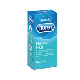 Durex Natural Plus Preservativos 6U