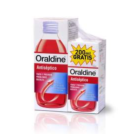 Oraldine Antiseptico Pack 400Ml +200Ml