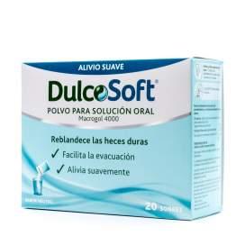 Dulcosoft Polvo Para Solucion Oral 20 Sobres