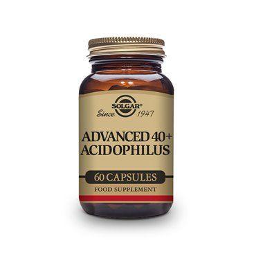 Solgar Advanced 40+ Acidophilus 60 Capsulas Vegetales