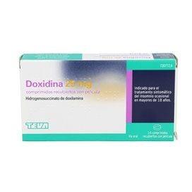 Doxidina 25Mg 14 Comprimidos Recubiertos