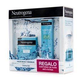 Neutrogena Hydro Boost Crema-Gel 50Ml + Crema Gel Contorno De Ojos 15Ml