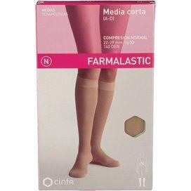 Farmalastic Media Corta (A-D) Comp Normal Beige T Grande
