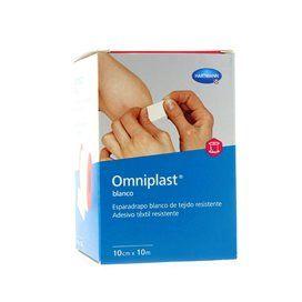 Esparadrapo Hipoalergico Omniplast Tejido Blanco 10Mx10Cm