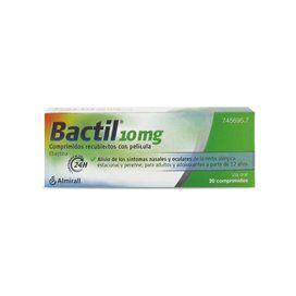 Bactil 10 Mg 20 Comprimidos Recubiertos