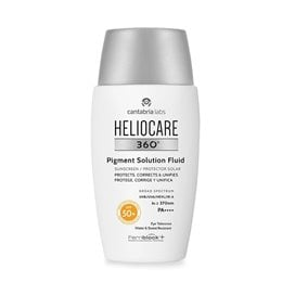 Heliocare 360º Pigment Solution Fluid Protector Solar Protege Corrige Y Unifica Spf50+ 50Ml