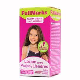 Fullmarks Solucion Antipiojos 100ml EN
