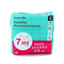 Suavinex Toallitas Dermohidratantes 3X72 Toallitas