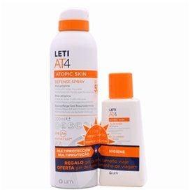 Leti Pack AT4 Defense Spray 200Ml+Mini Gel Baño 100Ml