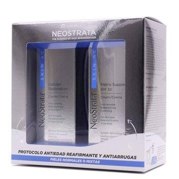Neostrata Skin Active Pack Matrix Support 50G + Cellular Restoration 50Ml