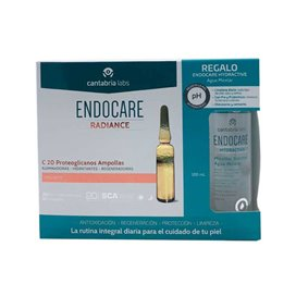 Endocare Radiance C20 Proteo 30 Ampollas + Agua Micelar 100Ml